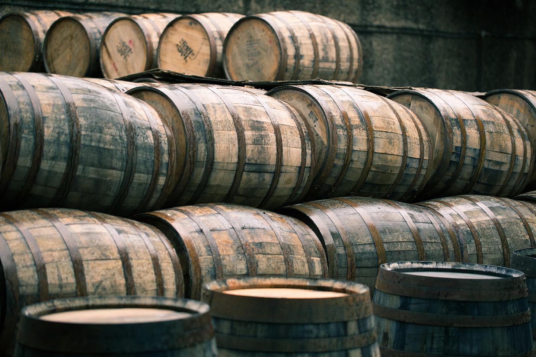 Photo of CaskX Sherry vs Bourbon Casks. Hogsheads and Butt Casks.